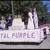 Rodeo Parade - Royal Purple float.  Shaunavon.  07/20/1964