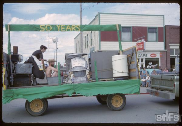 Shaunavon Jubilee Parade.  Shaunavon.  07/18/1963