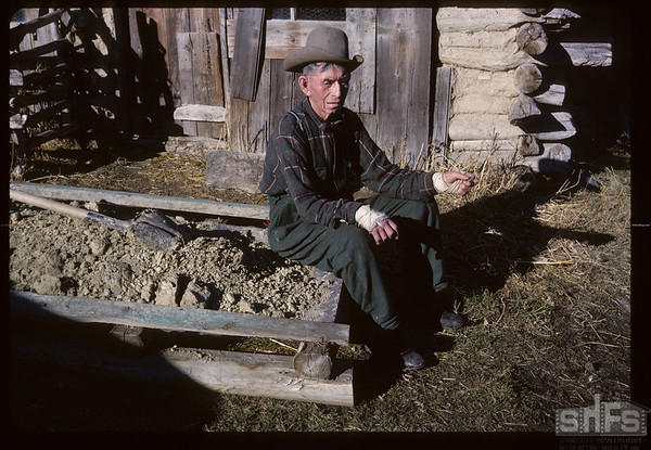 Pete Lafrombois - born at Chimney Coulle 1882. Maple Creek. 10/27/1962