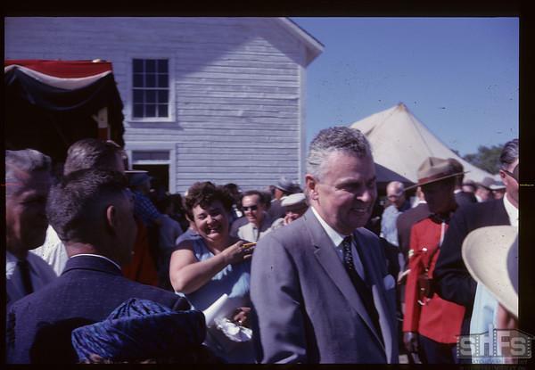 Official opening - John Diefenbaker. Batoche. 06/28/1961