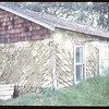 Ida Bradton's home - made from former NWMP Post logs (note on slide indicates it was taken with Kx film speed 64).  Wood Mountain.  09/05/1965