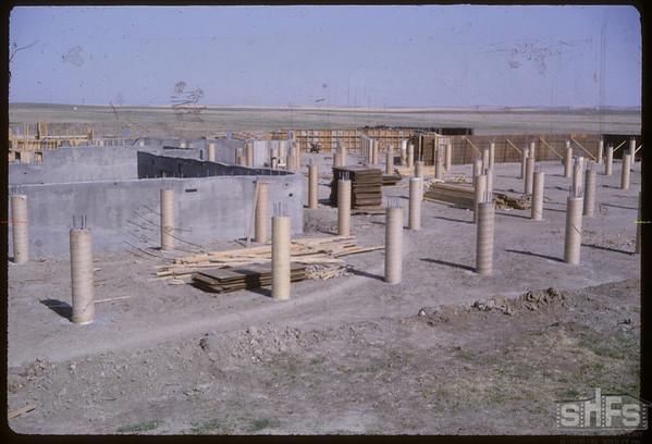 New Hospital under construction.  Shaunavon.  05/06/1966