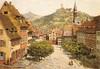 (postcard) Weinheim.