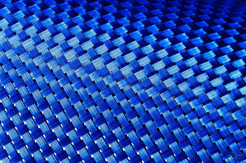 Wove in Blue