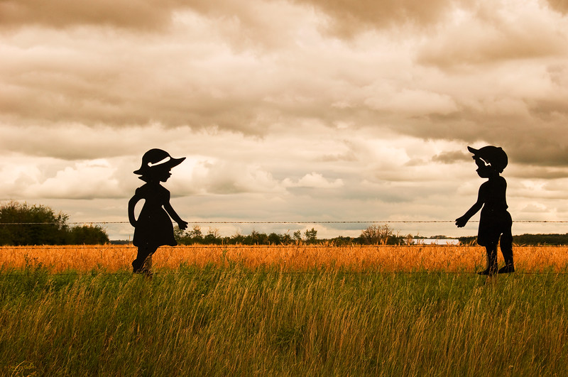"""September 1, 2011<br /> <br /> """"Love is... """"<br /> <br /> Rural Alberta"""