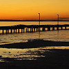 "March 9, 2011<br /> <br /> ""The Pier at Sunset""<br /> <br /> Alberta Beach<br /> Lac Ste. Anne"