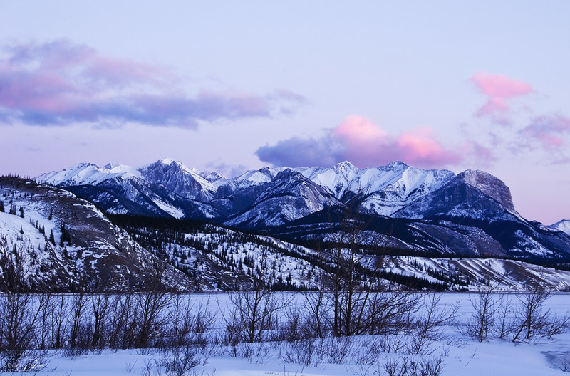 "February 15, 2011<br /> <br /> ""Mountain Morning""<br /> <br /> Jasper National Park, Alberta"
