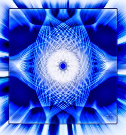 Blue Blends - Twirl Art
