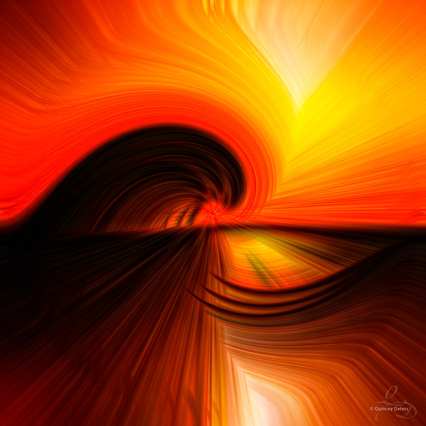 Silhouette Twirl