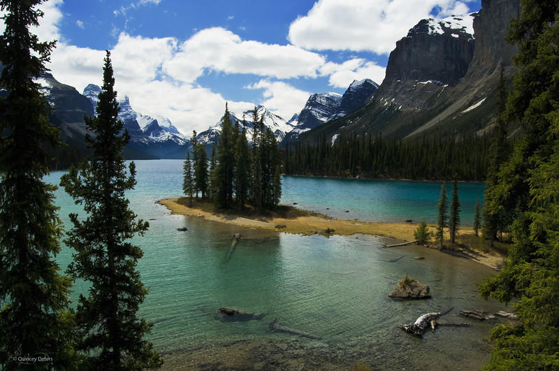 "March 3, 2011<br /> <br /> ""Spirit Island""<br /> <br /> Jasper National Park, Alberta"