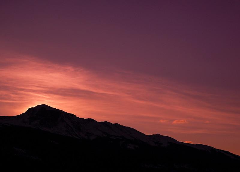March 30, 2014<br /> <br /> March Morning<br /> <br /> Jasper National Park, Alberta<br /> <br /> +Dawn on Sunday