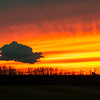 November 1, 2014<br /> <br /> Stunning Sunset<br /> <br /> * We were treated to a great sunset this evening!!