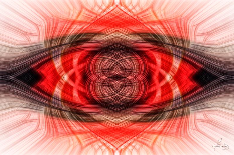 Red Dusk Twirl