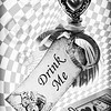 November 20, 2014<br /> <br /> Drink Me<br /> <br /> * This is my entry in the BW category of our Fairy Tales competition at the camera club. I had a blast creating this composite image!!