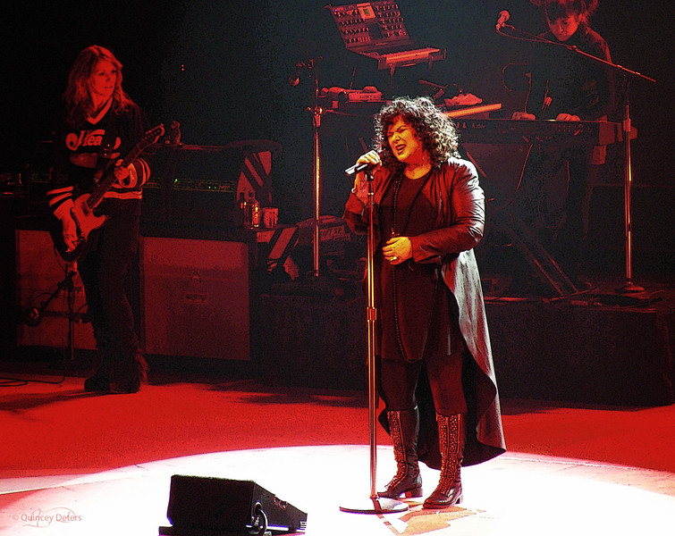 """February 20, 2011  """"Rock Goddesses""""    ~  Heart   ~   Ann & Nancy Wilson  Feb. 19 / 11 Northern Alberta Jubilee Auditorium Edmonton, Alberta  * One of the <i>BEST</i> concerts I have ever seen!! Ann's voice is absolutely amazing to this day. I can't even tell you how AMAZING this was!! Nancy rocked the stage like it was 1977!! I am honored to have seen this show after decades of recordings  :)"""