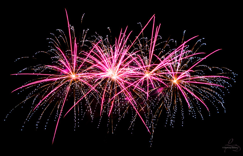 Jasper in January Fireworks