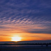 """Day Fifty-Four<br /> <br /> """"Christmas Eve Sunset""""<br /> <br /> Rural Alberta"""