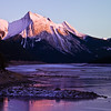 "May 20, 2011<br /> <br /> ""Sunset Glow""<br /> <br /> Medicine Lake<br /> Jasper National Park, Alberta"