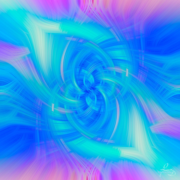 Mr. Blue Sky Twirl