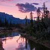 March 21, 2014<br /> <br /> Glorious Sunrise<br /> <br /> The Glory Hole<br /> Jasper National Park, Alberta