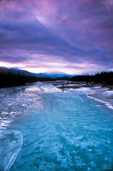 "May 19, 2011<br /> <br /> ""Magical Morning""<br /> <br /> Athabasca River<br /> Jasper National Park, Alberta"