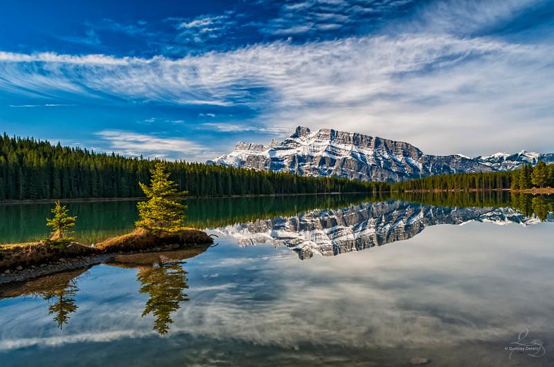 Morning at Two Jack Lake