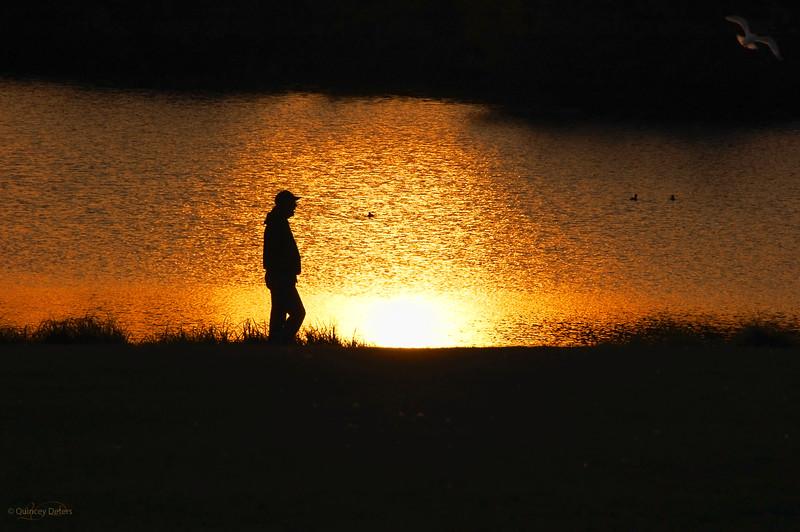 "March 8, 2011<br /> <br /> ""Sunset Stroll""<br /> <br /> Hawrelak Park<br /> Edmonton, Alberta"