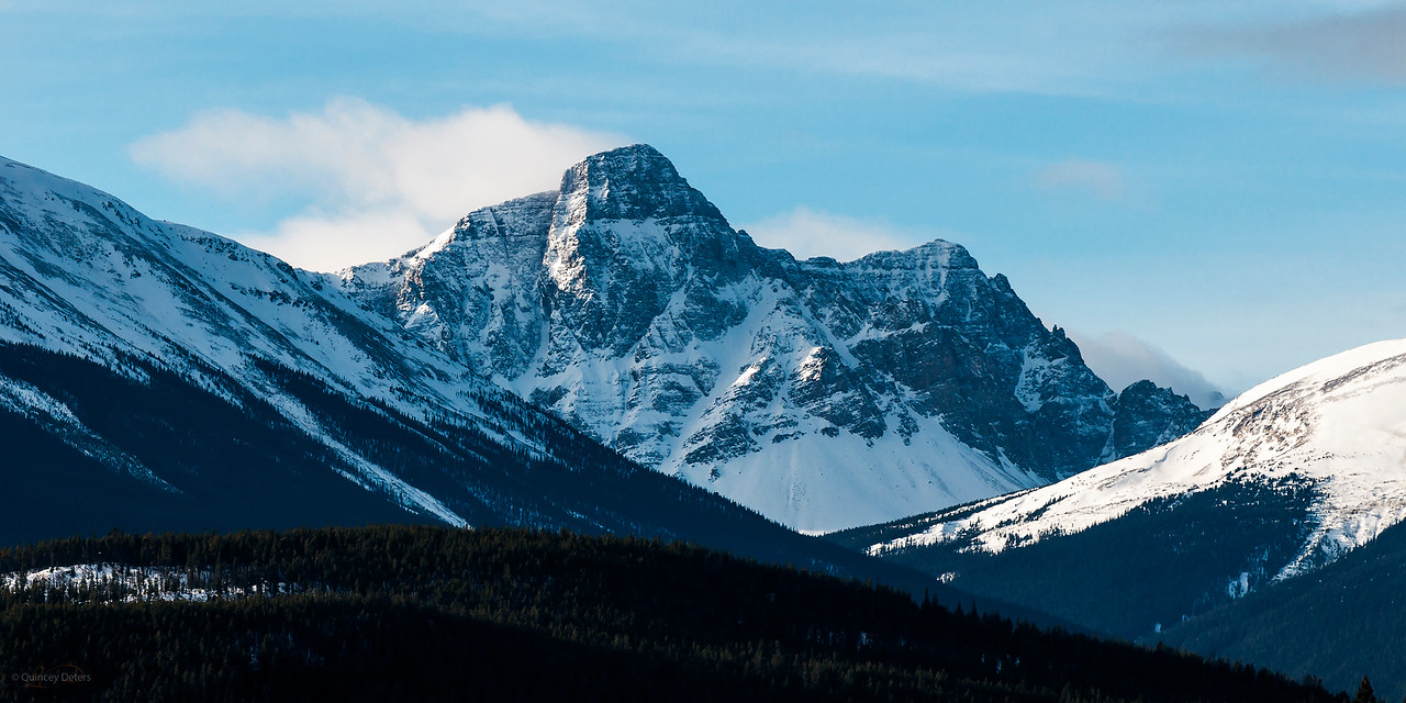 January 16, 2015  The Call of the Mountains  Jasper National Park, Alberta  * For the month of January I will, once again, be posting images from my annual trips to Jasper in January.