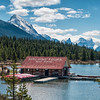 Maligne Tours Boat House