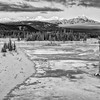 Athabasca River  Victoria Cross Range<br /> Jasper National Park, Alberta