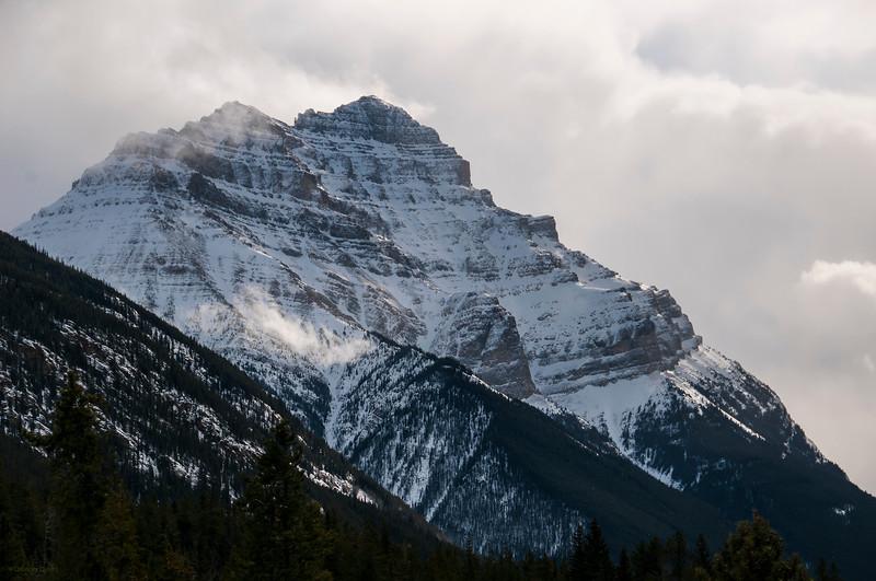 February 17, 2014<br /> <br /> Mighty Mountain<br /> <br /> Jasper National Park, Alberta
