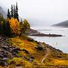 November 21, 2014<br /> <br /> Fall in the Rockies<br /> <br /> Medicine Lake<br /> Jasper National Park, Alberta<br /> <br /> (Taken October 11, 2014)
