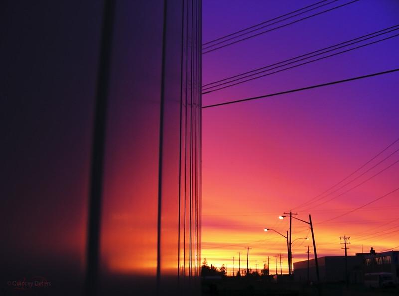 "February 10, 2011<br /> <br /> ""Industrial Sunrise""<br /> <br /> Edmonton, Alberta"