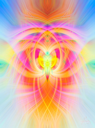 Colourful Twirl