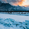 Snaring River  Colin Range<br /> Jasper National Park, Alberta