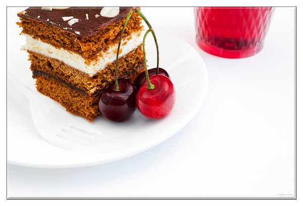 February 15, 2015  Piece of Cake  * My contribution to the Still Life Challenge - Week 2