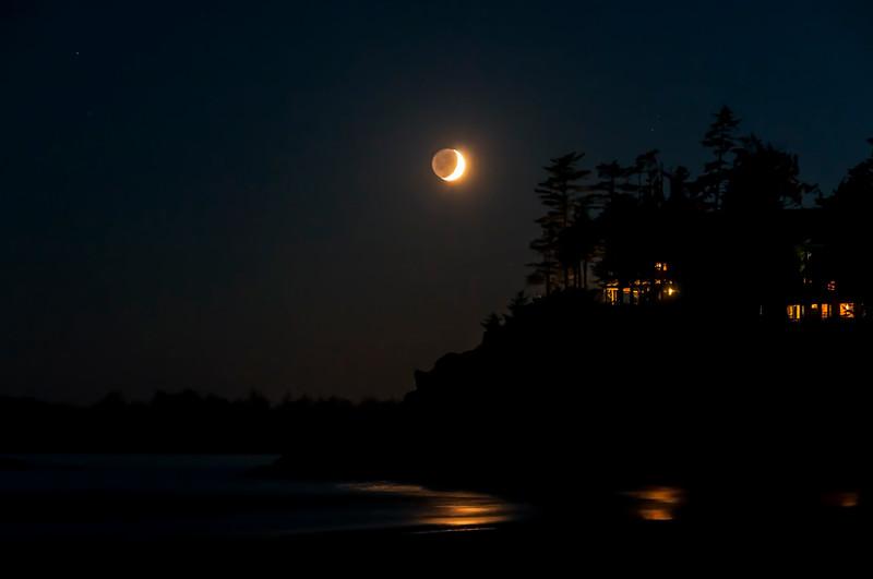 August 28, <br /> <br /> Night on the Beach<br /> <br /> Mackenzie Beach<br /> Vancouver Island, B.C