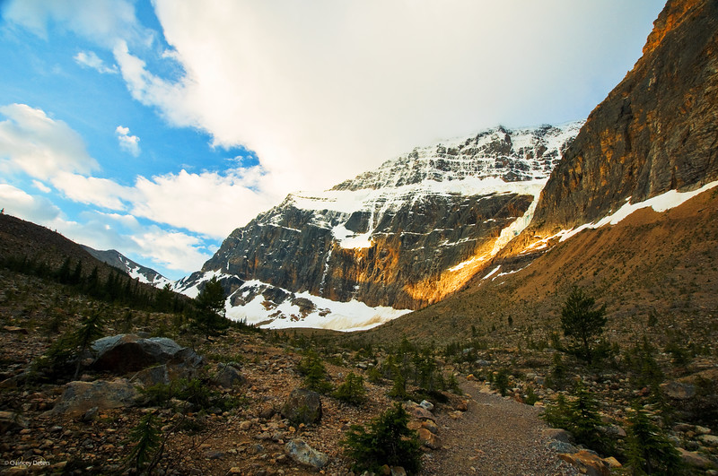July 21, 2011<br /> <br /> Mount Edith Cavell<br /> <br /> Jasper National Park, Alberta<br /> <br /> * This was the first time I went up to Mount Edith Cavell. It is absolutley amazing and completely took my breath away.