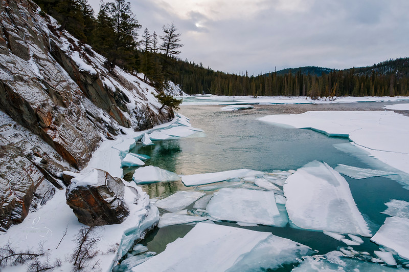 Icy Athabasca