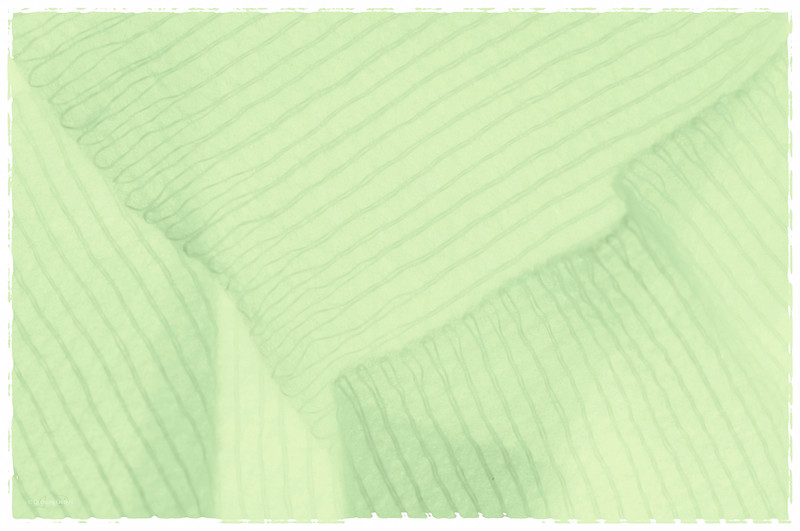 March 17, 2014<br /> <br /> Happy St. Patrick's Day!!<br /> <br /> * This is an abstract image of some gauze. I had to add some green on this special day :)
