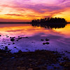 "January 6, 2011<br /> <br /> ""Surreal Sunset""<br /> <br /> Astotin Lake<br /> Elk Island National Park, Alberta<br /> <br /> * This image was taken in early October while I was on an outing with some members of my camera club, Images Alberta Camera Club. We had a great time and the Sun Gods were definately working with us. The sky was so great we continued shooting long after the sun went down.<br /> <br />  <a href=""http://www.imagesalberta.ca/"">http://www.imagesalberta.ca/</a>"