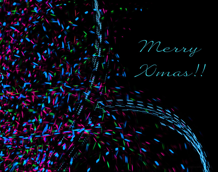 """December 22, 2013<br /> Xmas Card<br /> <br /> * 12 Days of Christmas Challenge<br /> Also the day to showcase the letter """"X"""". Unfortunately I did not find time to execute any of my ideas so I made a creative """"X""""mas card."""