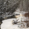 "Day Thirty-One<br /> <br /> ""Winter Wonder""<br /> <br /> Shunda Creek<br /> Near Nordegg, Alberta"