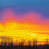 "January 10, 2011<br /> <br /> ""Super Sunset""<br /> <br /> Elk Island Retreat, Alberta"