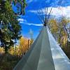 """Day Thirty-Two<br /> <br /> """"Tipi Traits""""<br /> <br /> Elk Island Retreat, Alberta<br /> <br />  <a href=""""http://www.elkislandretreat.com/"""">http://www.elkislandretreat.com/</a>"""