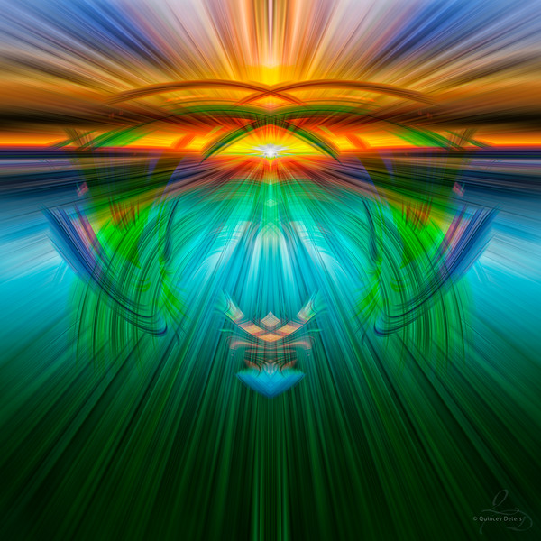 Stunning Sunrise Twirl