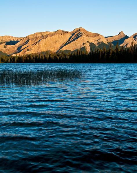 February 17, 2013<br />  <br /> Kinky Morning<br />  <br /> Kinky Lake<br /> Wildhorse Provincial Park, Alberta