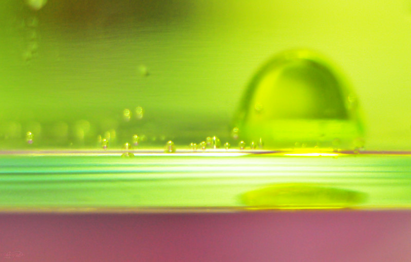 "August 16, 2011<br /> <br /> ""Techno Bubbles""<br /> <br /> Abstract<br /> Oil & Water"