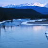 "March 31, 2011<br /> <br /> ""Jasper Morning""<br /> <br /> Athabasca River<br /> Jasper National Park, Alberta<br /> <br /> * This image was take in April of 2009. I am very excited for spring but the truth is, we are still experiencing winter up here in Edmonton. On an up note, the sun is out today.<br /> I wish I was in Jasper :)"