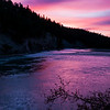 October 26, 2014<br /> <br /> River's Edge<br /> <br /> Athabasca River<br /> Jasper National Park, Alberta<br /> <br /> * I have been busy. I enjoyed five days in Jasper where I was fortunate to get some images with fall colours. I spent a couple of days teaching photography classes, while taking in the beautiful scenery at the Fairmont Jasper Park Lodge. Then we spent a couple more days taking in some of my favorite sites. This was followed by the anticipated arrival of my twin nieces, Danica and Keira!! <br /> I look forward to posting more photos from both occasions :)
